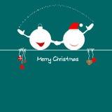 Noël vient Photos stock