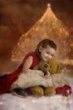 Noël vient Photos libres de droits