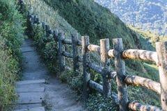 Nożna ścieżka w górze, Fotografia Stock