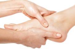nożny masaż Obrazy Stock