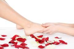 nożny masaż Zdjęcie Royalty Free