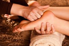 nożny masaż Fotografia Stock