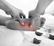 Nożny masaż Obraz Stock