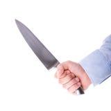 nożowy męski ostrze Zdjęcie Royalty Free