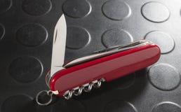Nożowy ostrze Fotografia Stock