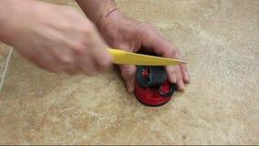 Nożowy ostrzenie na specjalnym element wyposażenia zbiory