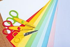 Nożyce dla children sztuki Fotografia Royalty Free