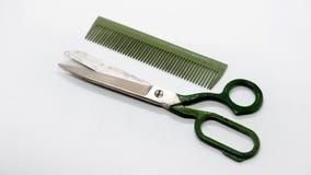 Nożyce i grępla Zdjęcie Royalty Free