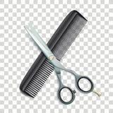 Nożyce I grępla Przejrzyści ilustracji