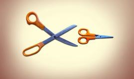 Nożycowy cyzelatorstwo nożycowy zdjęcie royalty free
