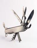 Nożyk odizolowywający na bielu Obrazy Stock