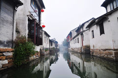 The No. 1 Water Town in China – Zhouzhuang Stock Image