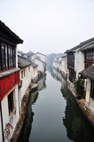 The No. 1 Water Town in China – Zhouzhuang Royalty Free Stock Photo
