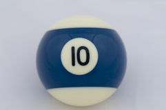 No 10 Pool Ball Royalty Free Stock Photography