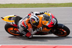 No 3 Dani Pedrosa at Shell Malaysian Motogp Stock Images