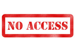no access Stock Images