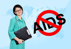 No aids concept Stock Photo