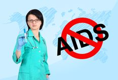 No aids concept Stock Image