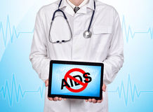 No aids Royalty Free Stock Image