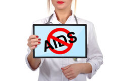 No aids Stock Image