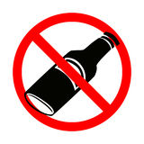 No alcohol Stock Photography