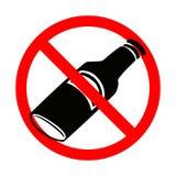 No alcohol Stock Photography