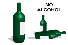 No alcohol Royalty Free Stock Photography