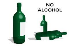 No alcohol Royalty Free Stock Photography