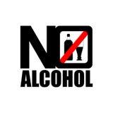 No alcohol icon Stock Photos