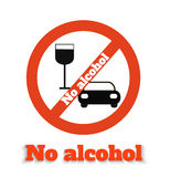 No alcohol Stock Images