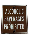 No alcohol sign isolated by clipping path Stock Image