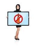 No Alcohol Symbol Royalty Free Stock Image