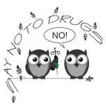No alle droghe Immagine Stock Libera da Diritti