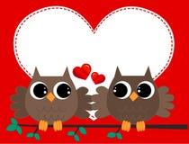 no amor ilustração stock