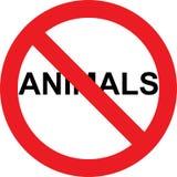 No animals sign Stock Photos