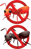 No ants Royalty Free Stock Image