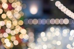 No1 astratto del fondo delle luci di Natale Immagini Stock