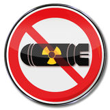 No atomic bomb Stock Image