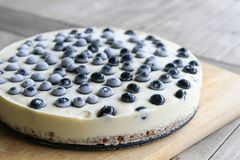 No Bake Cheese Cake Royalty Free Stock Photo