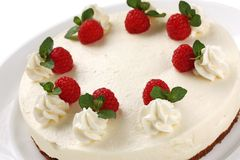 No bake cheesecake Stock Images