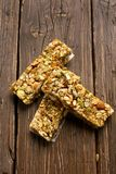 No baked granola bar Stock Photos