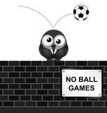 No Ball Games Stock Photo