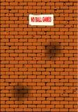 No Ball Games Royalty Free Stock Image