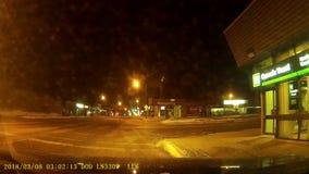 No banco do TD da rua principal vídeos de arquivo