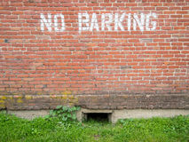 No barking Stock Photo
