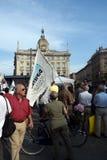 No Bavaglio Day - Milan Royalty Free Stock Images
