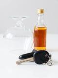 No beba y no conduzca Fotografía de archivo libre de regalías