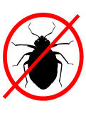 No Bed Bugs Royalty Free Stock Photography