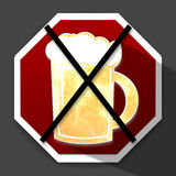 No Beer Stock Images