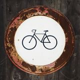 No bicycles entry Stock Photography